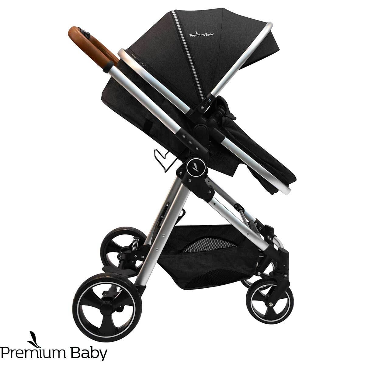 COCHECITO 3 EN 1 PREMIUM BABY NEW MIKE LUX